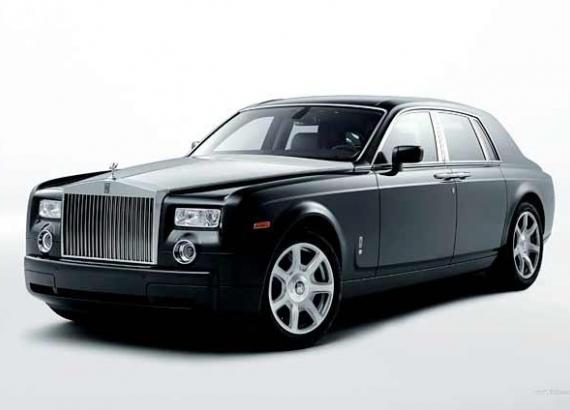 Rolls Royce Phantom (image: bornrich.com)