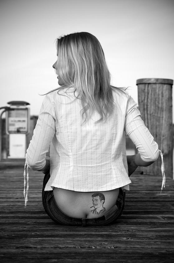 butt tatoo