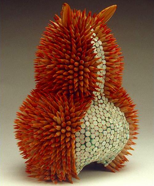 Pencil Sculptures - Pencil Bunny