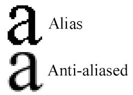 Antialiasing Explained - before and after