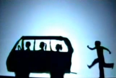 Pilobolus Dance: Shapes formed by Human Silhouettes