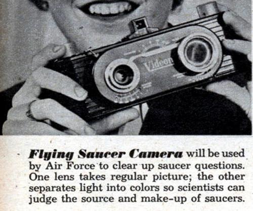 Flying Saucer Camera - Strange Inventions