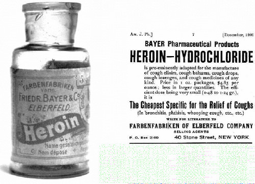 The Great Binge - Bayers Heroin