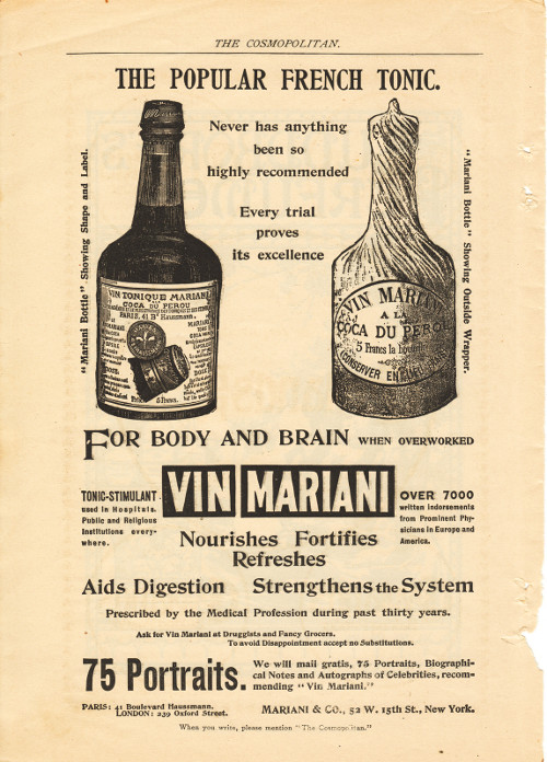 Great Binge Drugs - Mariani Wine