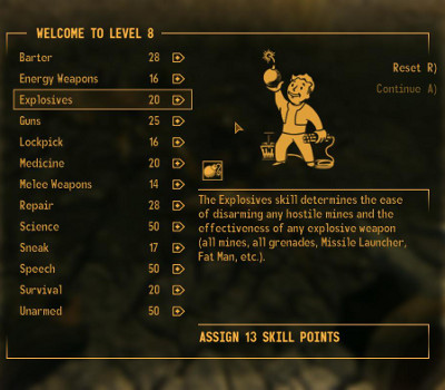 Fallout New Vegas Game Guide Levelling