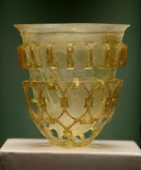 Roman Cage Cup from the 4th century A.D.
