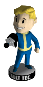 Fallout New Vegas Bobblehead Locations - Energy Weapons Bobblehead