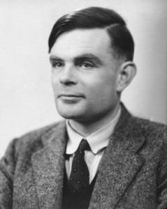 Alan Turing - Inventor of the Turing Machine (image: Wikipedia)