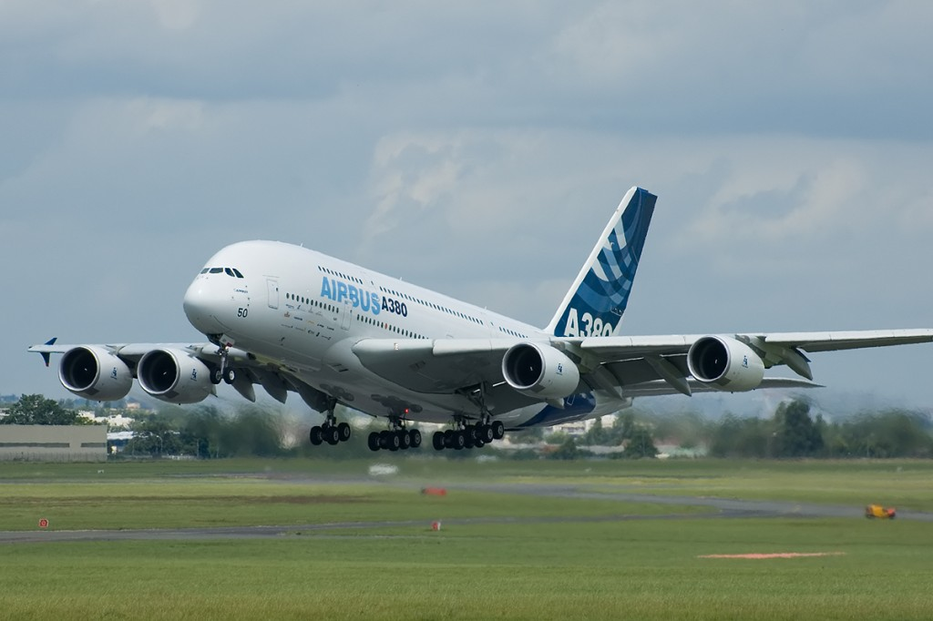 The Airbus A380 – currently the largest passenger aeroplane in the world (image: wikipedia.org) Jet Engine Invention